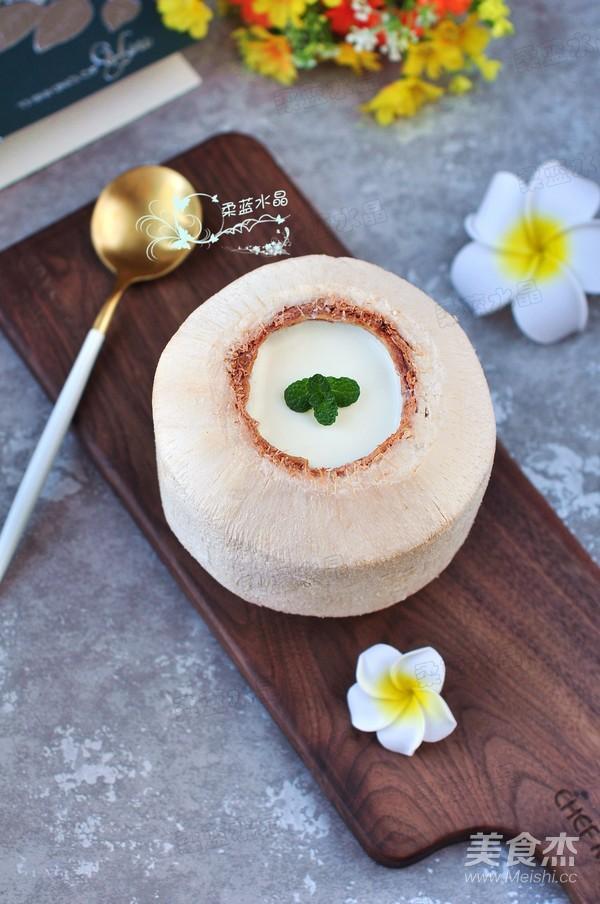 cách làm thạch dừa, thạch dừa, món ngon