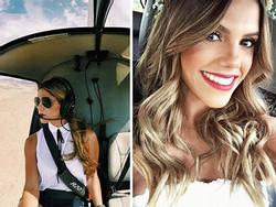Cuộc sống mơ ước của nữ phi công được mệnh danh gợi cảm nhất hành tinh