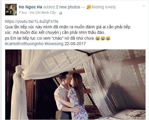 Hồ Ngọc Hà nói gì trước nghi án hẹn hò bí mật với Kim Lý