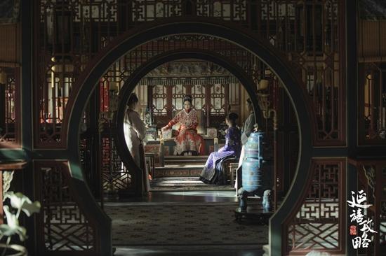 Xa Thi Mạn đẹp quyền lực với tạo hình cổ trang trong phim mới-8