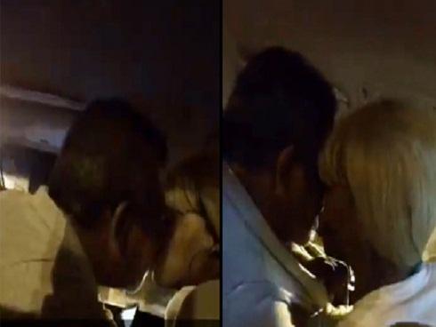 Tài xế Uber hôn hít phụ nữ khi đang chở khách