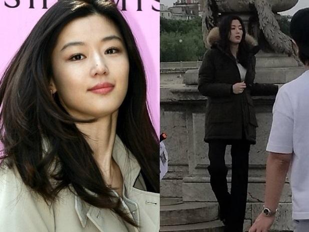 Fan xót xa vì 'mợ chảnh' Jeon Ji Hyun quá gầy dù đang mang thai