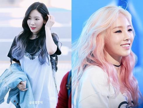Soi những màu tóc 'chất phát ngất' của nữ thần Taeyeon suốt 10 năm qua