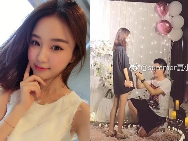 Tình cũ của 'thiếu gia' Vương Tư Thông được cầu hôn đẹp hơn ngôn tình