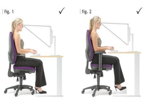 Ngồi máy tính cả ngày phải biết 5 điều này để sức khỏe không bị tổn hại nghiêm trọng