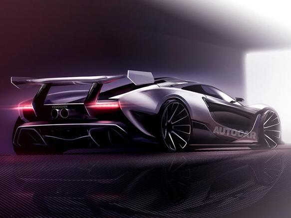 Siêu xe McLaren P15 sẽ được bán vào năm 2019
