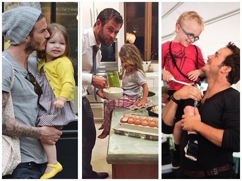 Chân dung 7 người cha tuyệt vời của Hollywood