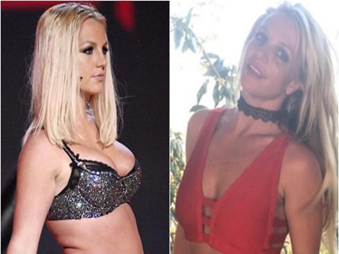 Britney Spears tiết lộ bài tập giúp chia tay thân hình sồ sề