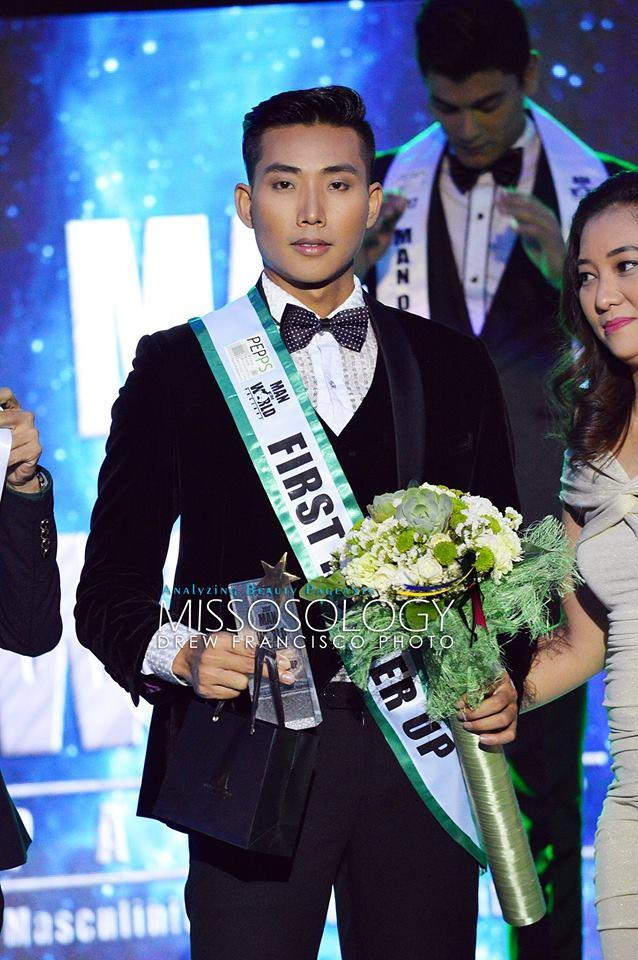 Người mẫu Hữu Long đăng quang ngôi Á vương 'Man Of The World 2017'-5