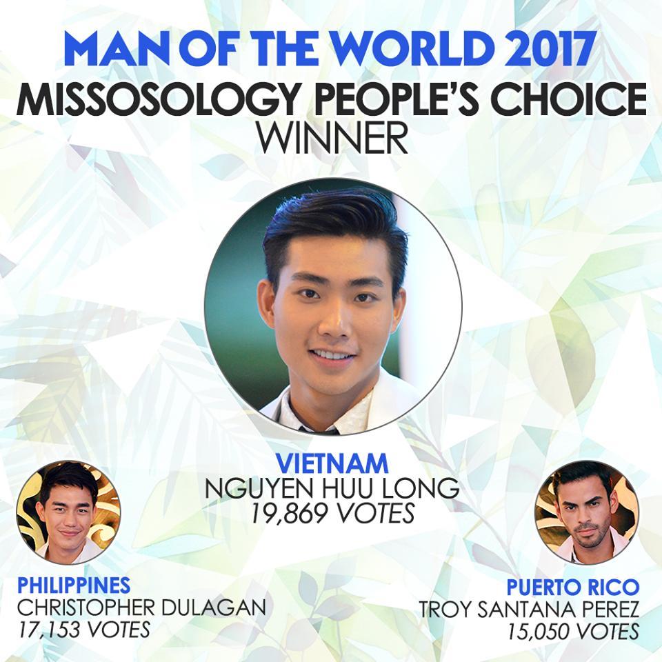 Người mẫu Hữu Long đăng quang ngôi Á vương 'Man Of The World 2017'-6