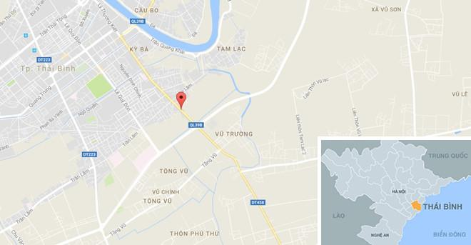 Nam thanh niên tẩm xăng lên người tự thiêu ở Thái Bình-1