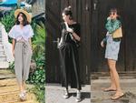 Street style sao Việt: Chán nổi loạn, Angela Phương Trinh chuyển hướng nữ tính không ngờ-13