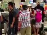 Clip: Hiếu Hiền đánh người tại sân bay gây tranh cãi trên mạng xã hội