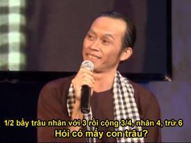 Danh hài Hoài Linh khiến hàng vạn người chóng mặt vì bài toán tìm trâu 'hại não'