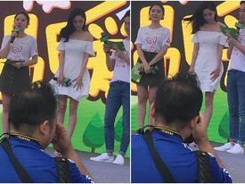 Phẫn nộ khi nhiếp ảnh gia cố tình chụp khoảnh khắc Dương Mịch bị tốc váy