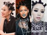 Cùng một kiểu tóc nhái Rihanna: Tóc Tiên đẹp cá tính - Hoàng Thùy lại 'cạn lời'