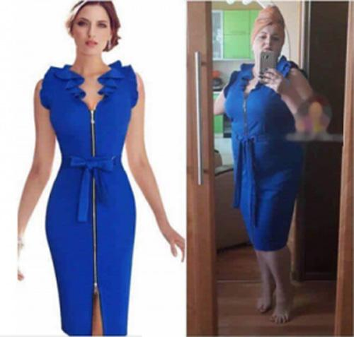 Những minh chứng cho thấy đã béo, lùn thì đừng bừa bãi mua hàng online-1