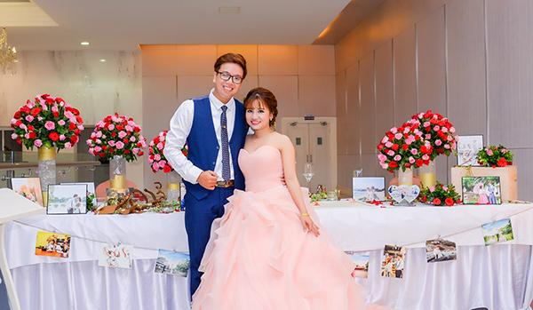 Cô dâu xinh đẹp và chú rể lãng tử nhìn tưởng 'Bích Phương - Bùi Anh Tuấn' khiến dân mạng xôn xao-5