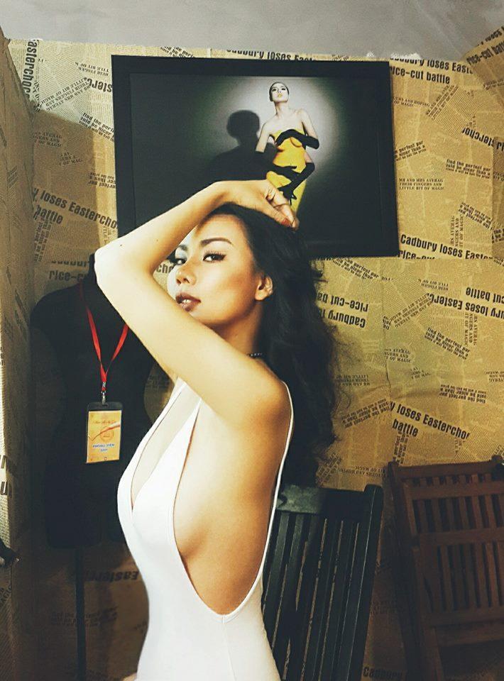 Gu thời trang cực sexy của cô gái khơi mào cuộc chiến Next Top - Lại Thanh Hương-2