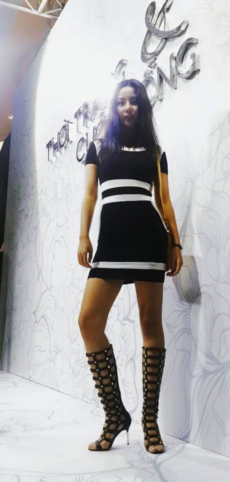 Gu thời trang cực sexy của cô gái khơi mào cuộc chiến Next Top - Lại Thanh Hương-4