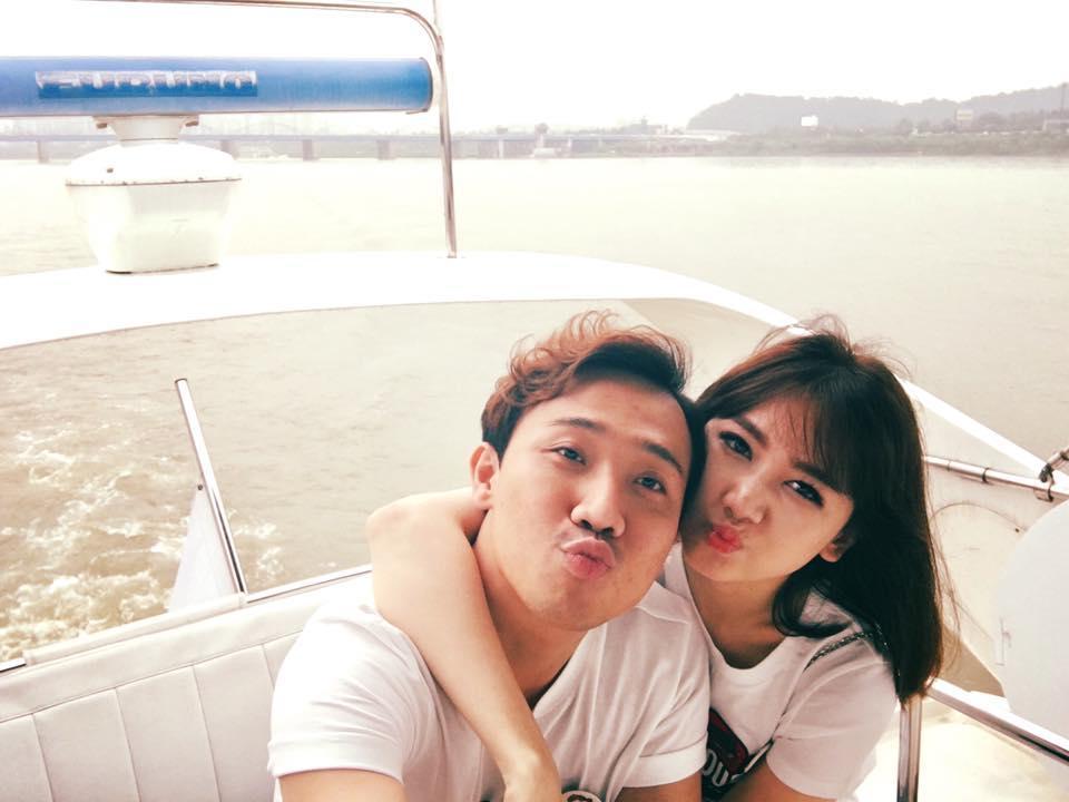 Tin sao Việt 1/8: Trấn Thành khóa môi Hari Won trên du thuyền-1