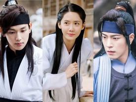 Sao Hàn 1/8: Hậu trường đáng yêu của SNSD Yoona và Siwan trong 'The King Loves'