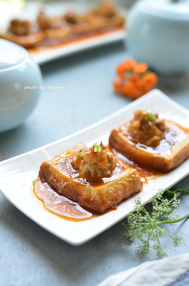 Dành cho những ai mê món đậu phụ: Đậu phụ nhồi thịt sốt ngon mê ly-13