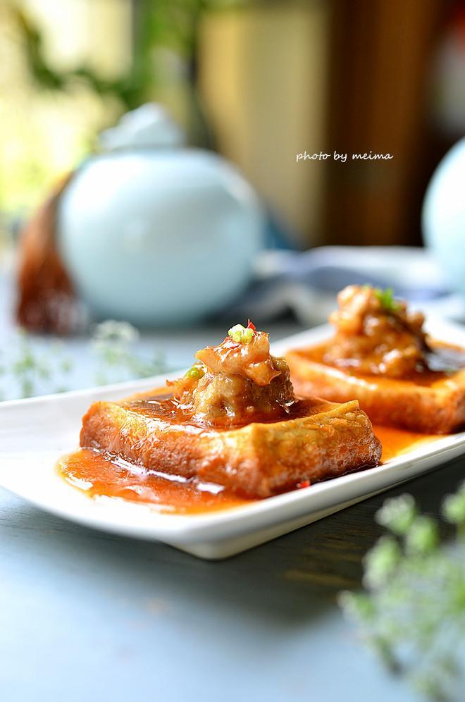 Dành cho những ai mê món đậu phụ: Đậu phụ nhồi thịt sốt ngon mê ly-14