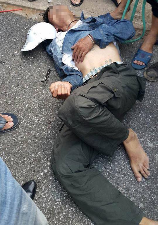 Công an bác tin đồn người đàn ông bị đánh gục vì bắt cóc trẻ-1