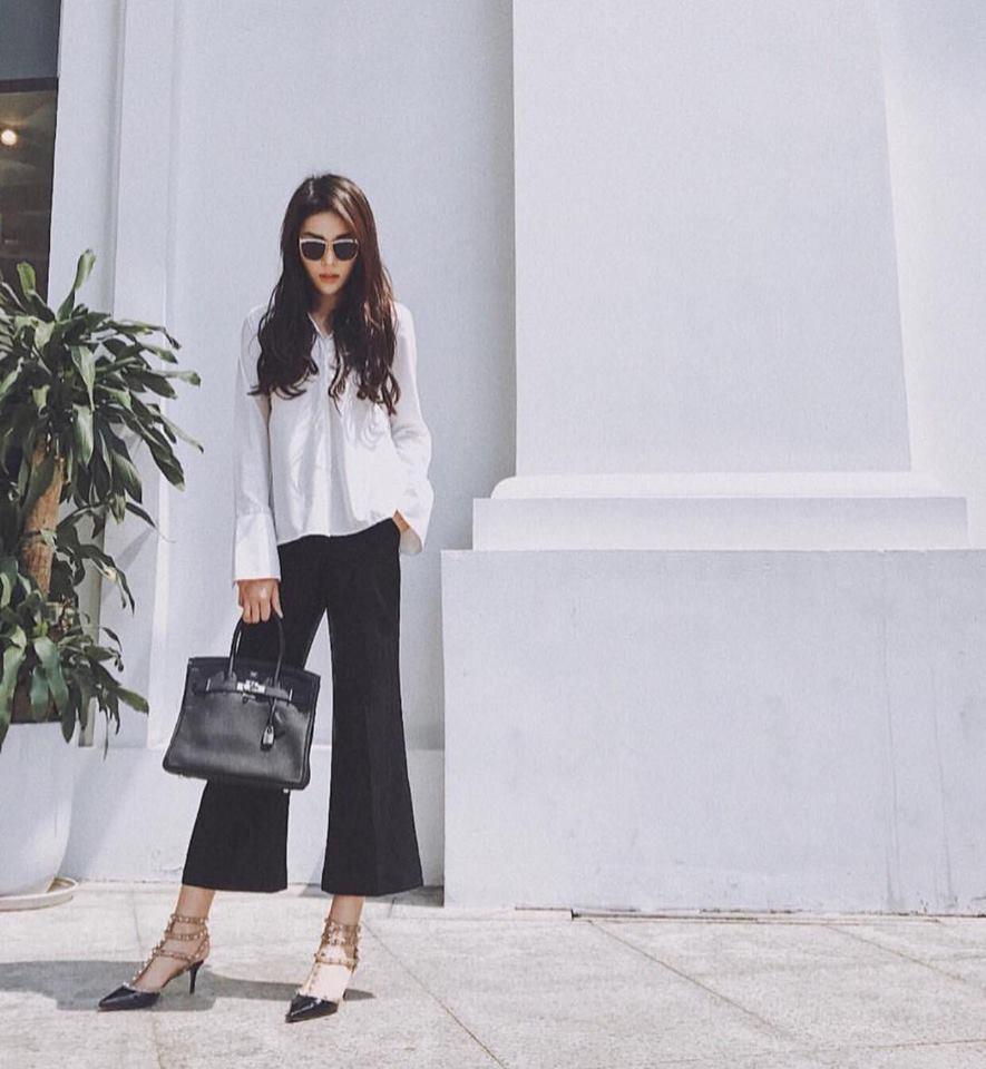 Street style sao Việt: Chán nổi loạn, Angela Phương Trinh chuyển hướng nữ tính không ngờ-2