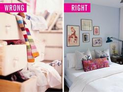 Phòng ngủ mà để kiểu này vợ chồng luôn mâu thuẫn, làm ăn ngày càng kém đi, hao tài tốn của