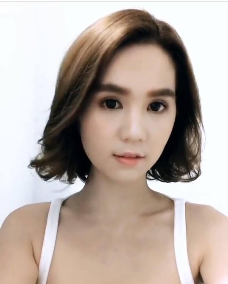 Ngọc Trinh - Hương Giang Idol - Elly Trần đồng loạt cắt phăng mái tóc dài thương nhớ-2