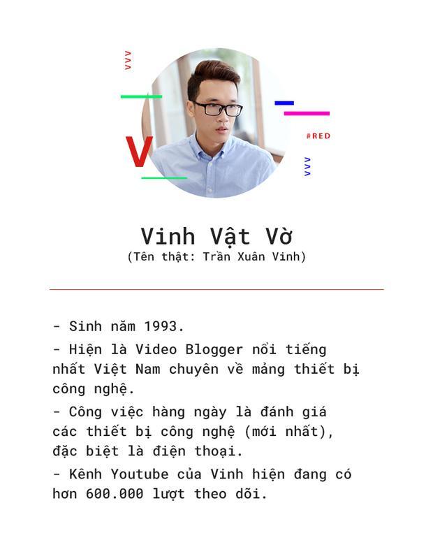 Vinh vật vờ: Từ gã trai 'giọng quê' làm clip cho đến thần tượng của làng review công nghệ Việt-1