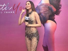 Thiều Bảo Trang diện đồ diễn 'bỏng mắt' chẳng kém gì bộ cánh tai tiếng của Angela Phương Trinh