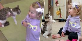 MOTHER WALKS INTO SHELTER AND SEES CAT, BUT WHEN SHE GETS CLOSER, SHE'S BROUGHT TO TEARS