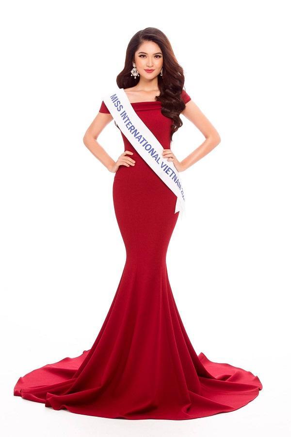 Không còn là tin đồn, Á hậu Thùy Dung chính thức đại diện Việt Nam thi Miss International 2017-2