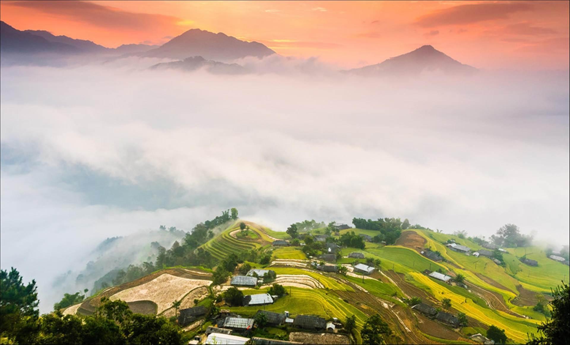 Miền núi, nông thôn, thành phố rực sắc màu qua ảnh \u0027Dấu ấn