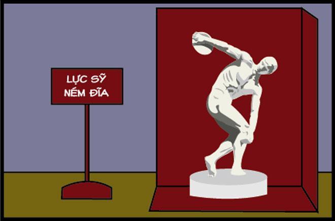 Truyện tranh: Bí mật hài hước về bức tượng ném đĩa cổ xưa-6