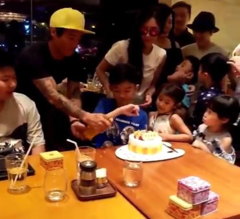 Tạ Đình Phong bị chỉ trích vì bỏ sinh nhật con để đi du lịch cùng người tình-3