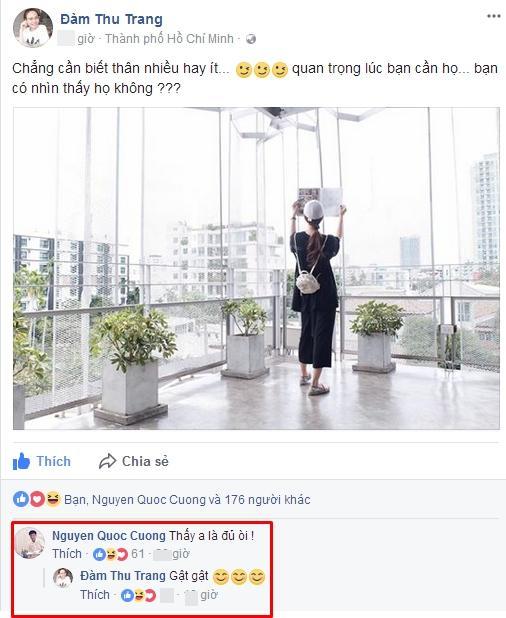 Cường Đô La công khai rủ người tình tin đồn Đàm Thu Trang hẹn hò riêng-2