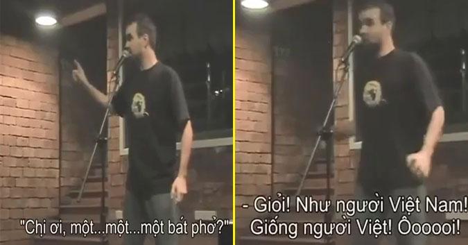 Clip hài: Chàng Tây chia sẻ kinh nghiệm 'xương máu' khi ở Việt Nam-1