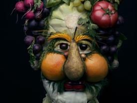 Những tác phẩm chân dung từ ẩm thực khiến ai xem cũng phải 'ngả mũ thán phục'.