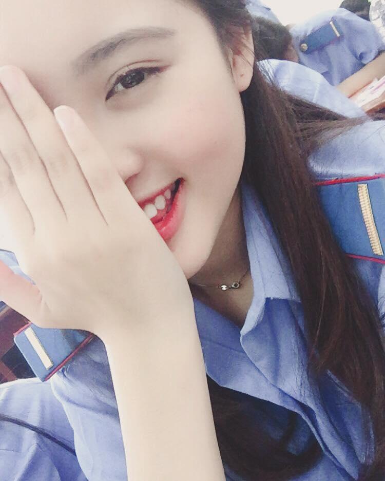 Ngắm nhan sắc 'kẹo ngọt' của cô sinh viên cảnh sát thi 'Hoa hậu Hoàn vũ Việt Nam 2017'-5