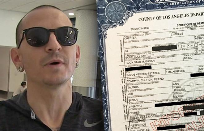 Thủ lĩnh Linkin Park tự tử bằng thắt lưng-1