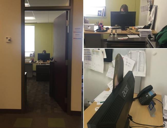 Lộ diện loạt ảnh đáng 'trăn trở' ở nơi công sở (P2)-6
