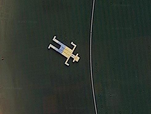 Những hình ảnh bí ẩn gây khó hiểu trên Google map