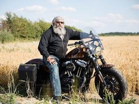 Harley-Davidson Forty-Eight độ phong cách viễn tưởng