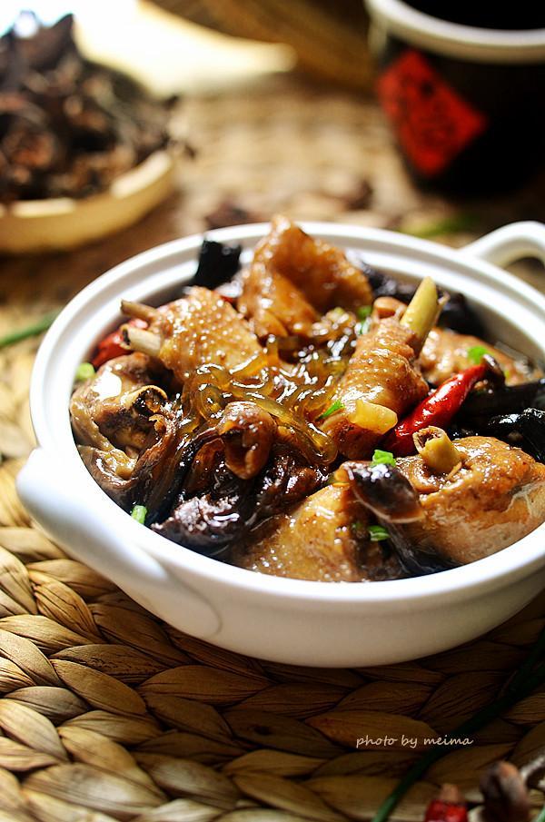 Miến thịt gà om nấm, bữa ăn sáng 'sang chảnh' cũng thèm-8
