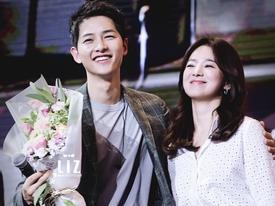 Song Joong Ki: 'Tôi đã rất lo lắng khi cầu hôn Song Hye Kyo'
