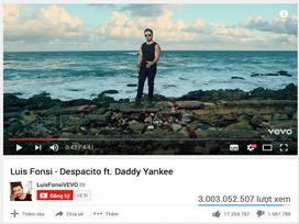 'Despacito': Siêu hit mọi thời đại vươn lên No.1 thế giới, chạm mốc 3 tỷ đầu tiên